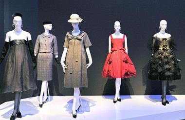 Diseños de Yves Saint Laurent.