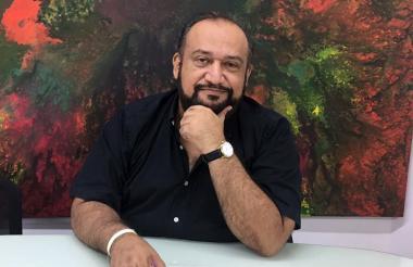 Coordinador de la Galería Cultural, José Cortissoz.