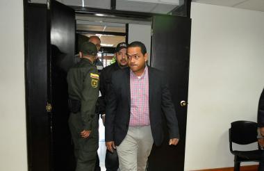Fabio Velásquez Rivadeneira, alcalde de Riohacha detenido por irregularidades en el PAE.