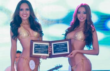 Señoritas Antioquia y Colombia.