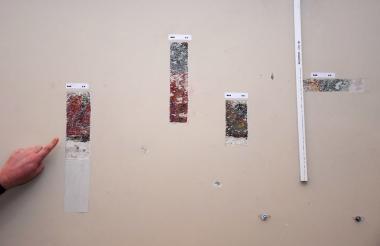 Estas son algunas de las calas hechas en el Bar Caribe del Hotel El Prado.