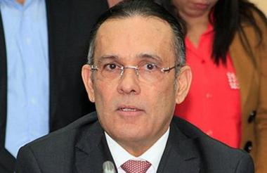 El senador Efraín Cepeda.