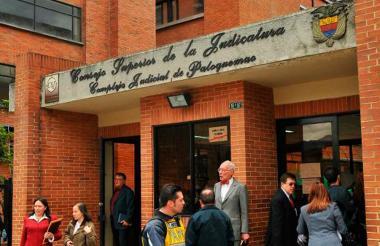 Consejo Superior de la Judicatura, en Bogotá.