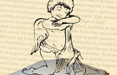 El ángel de La Cueva, imagen del premio.