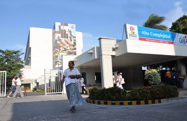 La Junta Directiva del Cari se reunió ayer en las instalaciones del hospital.