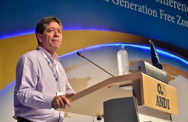 Bruce Mac Master, presidente de la Asociación Nacional de Empresarios, ANDI.