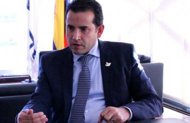Andrés Vásquez, presidente del Instituto Colombiano de Crédito Educativo y Estudios Técnicos en el Exterior (Icetex).