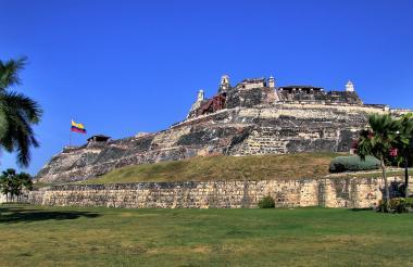 Castillo de San Felipe, en el sector del Pie de la Popa.