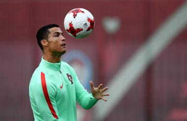 Cristiano Ronaldo, la carta de gol de Portugal.