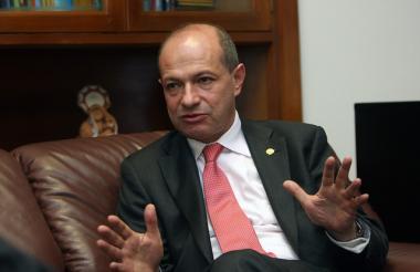 Pedro Sanabria, presidente del Consejo Superior de la Judicatura.