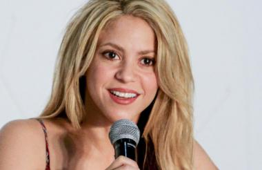La cantante Shakira