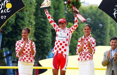 En el 2007, Mauricio Soler obtuvo el Premio de la montaña en el Tour de Francia.