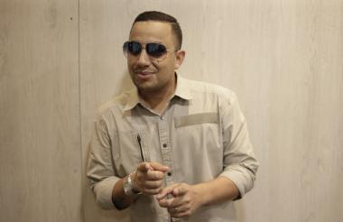 Pipe Peláez, durante su entrevista con este medio.