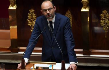 Edouard Philippe , primer ministro de Francia.