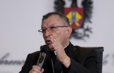 Monseñor Óscar Urbina, presidente de la CEC.