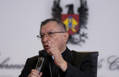 Monseñor Óscar Urbina, nuevo presidente de la Conferencia Episcopal.
