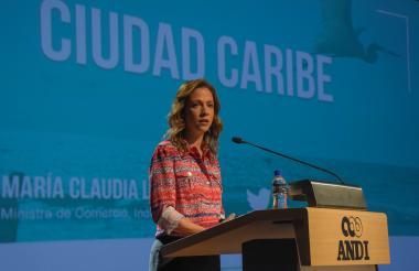 María Claudia Lacouture.