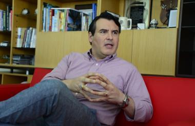 David Name en entrevista con EL HERALDO.