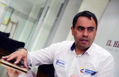 Jairo Alonso Mesa Guerra, superintendente.