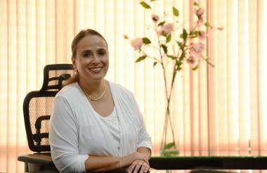 La secretaria de Planeación del Atlántico, Cecilia Arango Rojas.