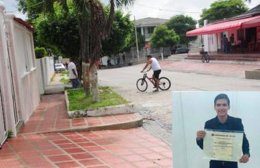 Alejandro Ruiz Noriega, de 24 años, fue asesinado el pasado 15 de junio en el barrio Los Nogales, en el norte de Barranquilla.