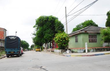 Carrera 7H con calle 52, donde fue atacado Riquett.