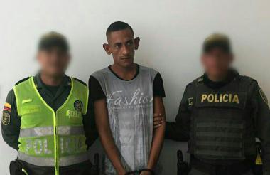 Hernán Darío Rojas, 32 años, alias el 'Orejas'.