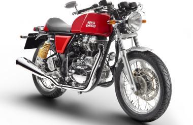 Los café racer de los años 1960 y 1965 dueños de las Continental GT de Royal Enfield, en particular, fueron la principal inspiración del diseño para esta motocicleta.