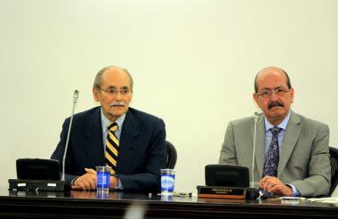 Horacio Serpa y Roosvelt Rodríguez.