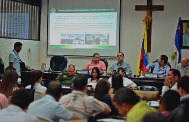 El Concejo de Valledupar lideró un debate sobre la implementación del nuevo Código de Policía.