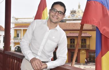 Sergio Londoño Zurek, nombrado alcalde encargado de Cartagena.