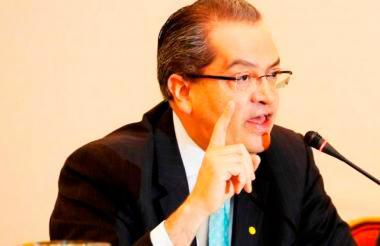 El procurador Fernando Carrillo.