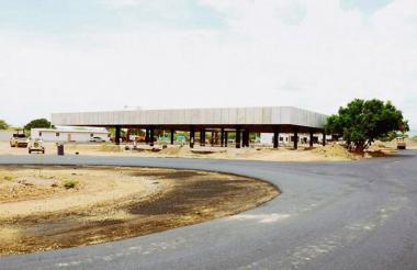 La construcción se inició en junio de 2013.