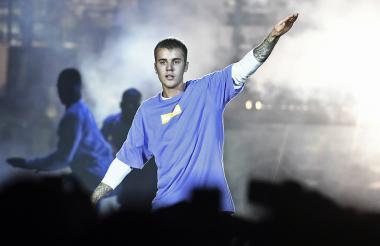 Justin Bieber, cantante canadiense.