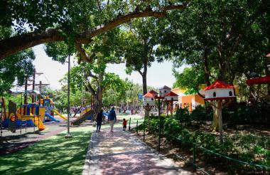 El Parque Tomás Suri Salcedo fue pionero en remodelación dentro del programa 'Todos al parque' .