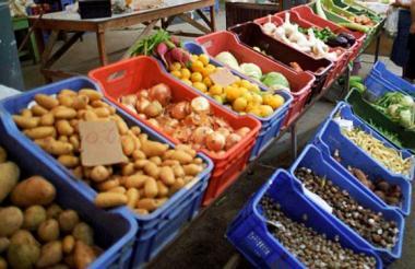 Alimentos registró una variación de -0,06%.