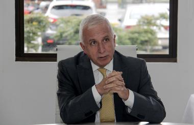 El antioqueño Baltazar Medina, presidente del COC.