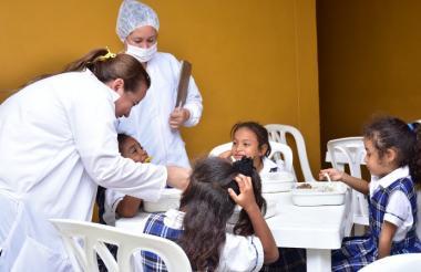 Los estudiantes de las zonas rurales como urbanas de Ciénaga reciben alimentación.
