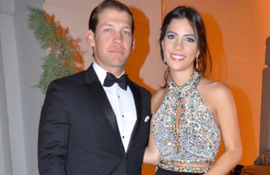 La pareja conformada por Armando Cuello Navarro y María Margarita Díaz Granados Gerlein.