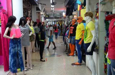 Centro comercial ubicado en el centro de Barranquilla.