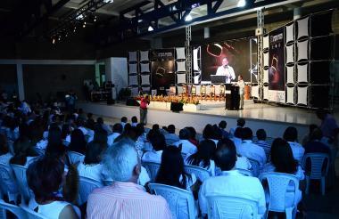 Aspecto de la XXVI edición del simposio de la Rama Judicial en Valledupar.
