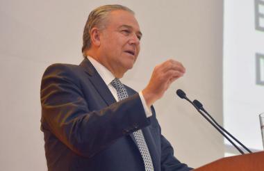 Óscar Naranjo, vicepresidente de Colombia.