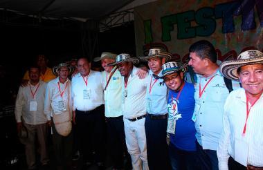 Decimeros de la Región durante un evento.