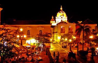 Centro Histórico a Cartagena.