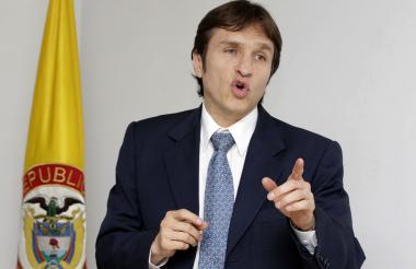 Javier Jaramillo, superintendente de Puertos y Transporte.