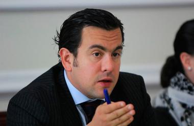 Rodrigo Lara, presidente Cámara de Representantes.