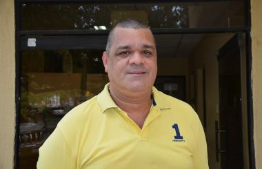 Carlos Robles, rector de la Uniguajira.