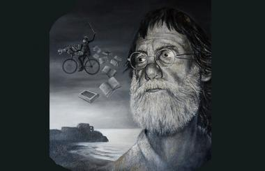 Un retrato de Aníbal realizado por Alejandro Domínguez.