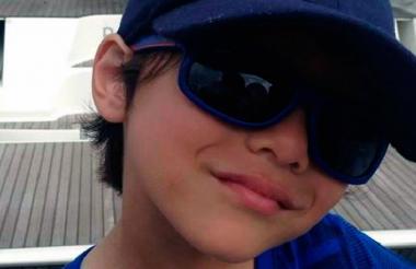 Julián Cadman, el menor que murió el jueves en Barcelona.