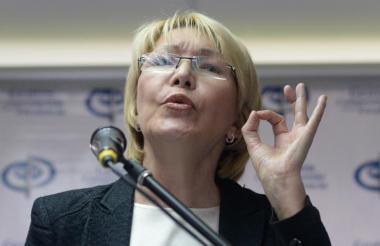 La exfiscal venezolana Luisa Ortega.